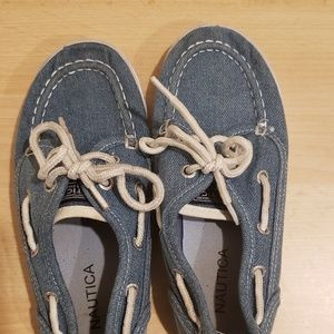 Nautica Shoes - Boys Nautica deck shoes size 12